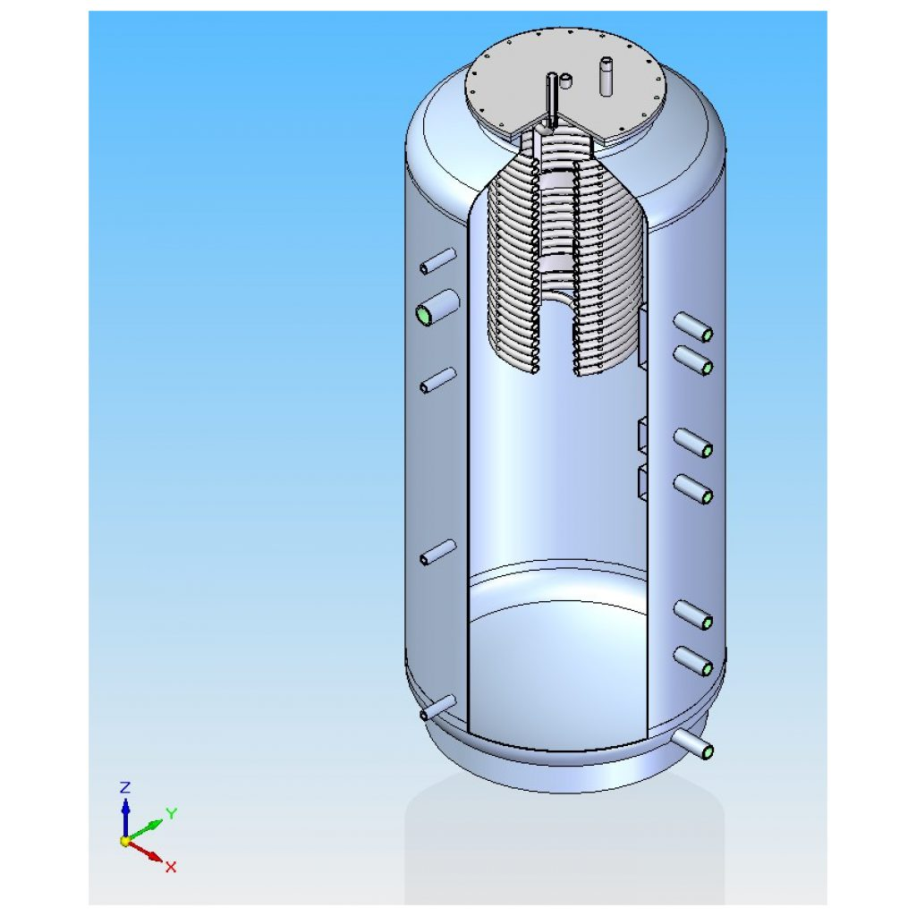 Pojemność cieplna zbiornika – kalkulator