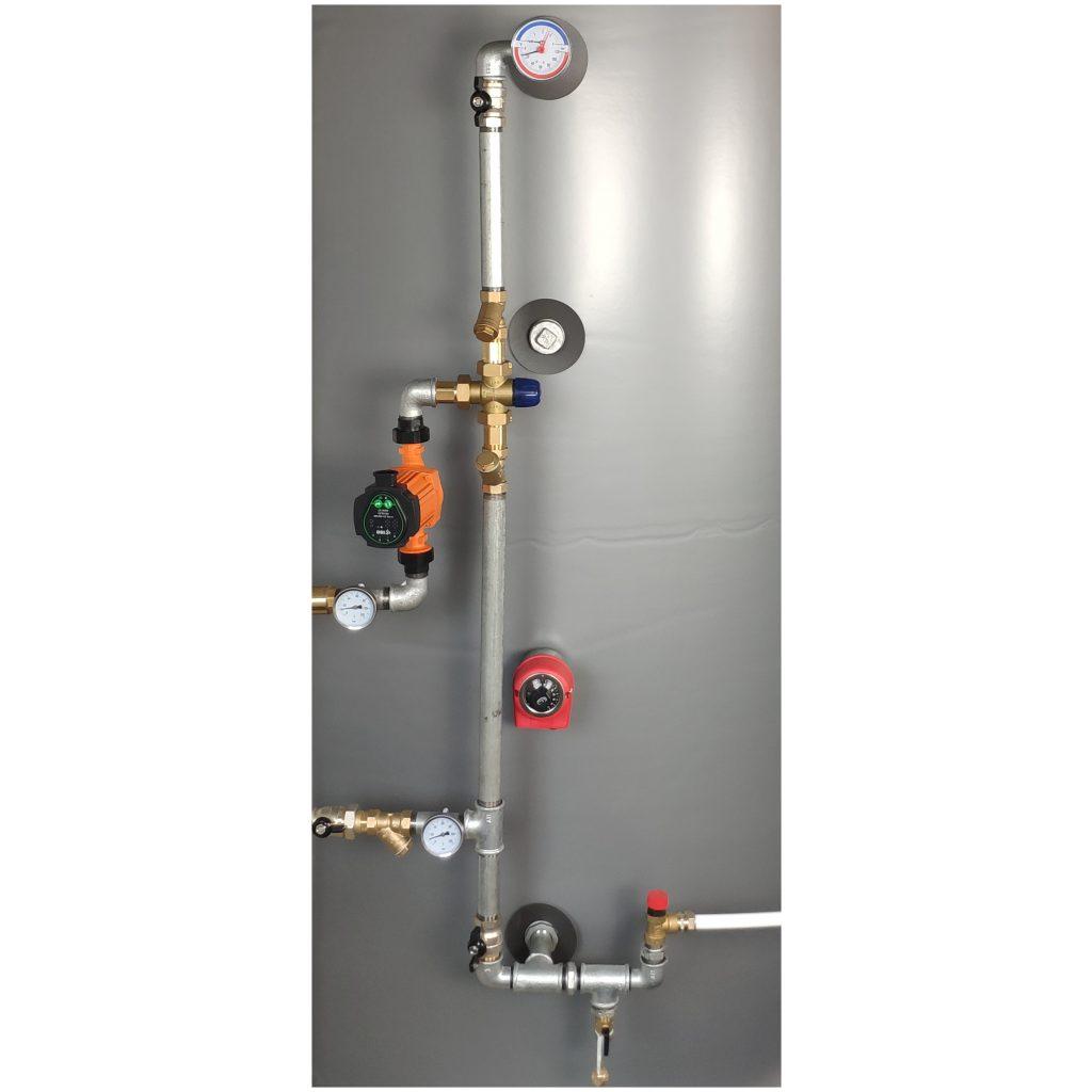 Elementy hydrauliczne do podłączenia instalacji