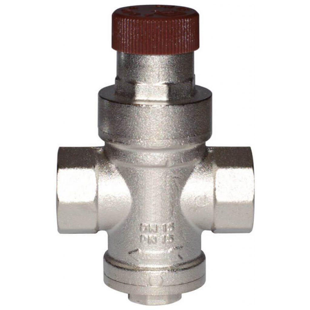"Reduktor ciśnienia DN20 GW3/4"" od 1 do 4 bar, z gniazdem na manometr"