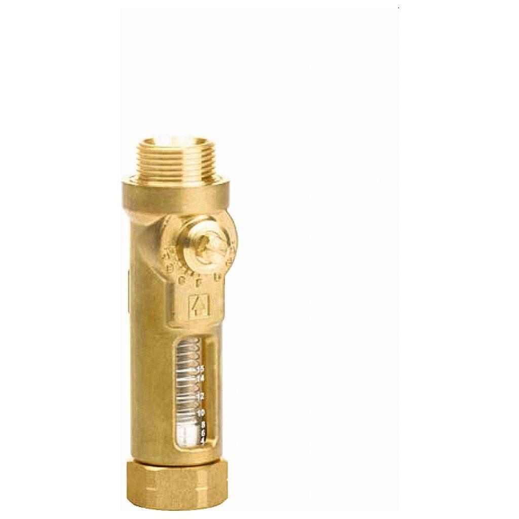 """Tacosetter Inline 130 z pierścieniem zaciskającym fi 22 / GZ 1"""" x GZ 1"""" / 20 / KVS 6,85 / 10-40 l/min"""