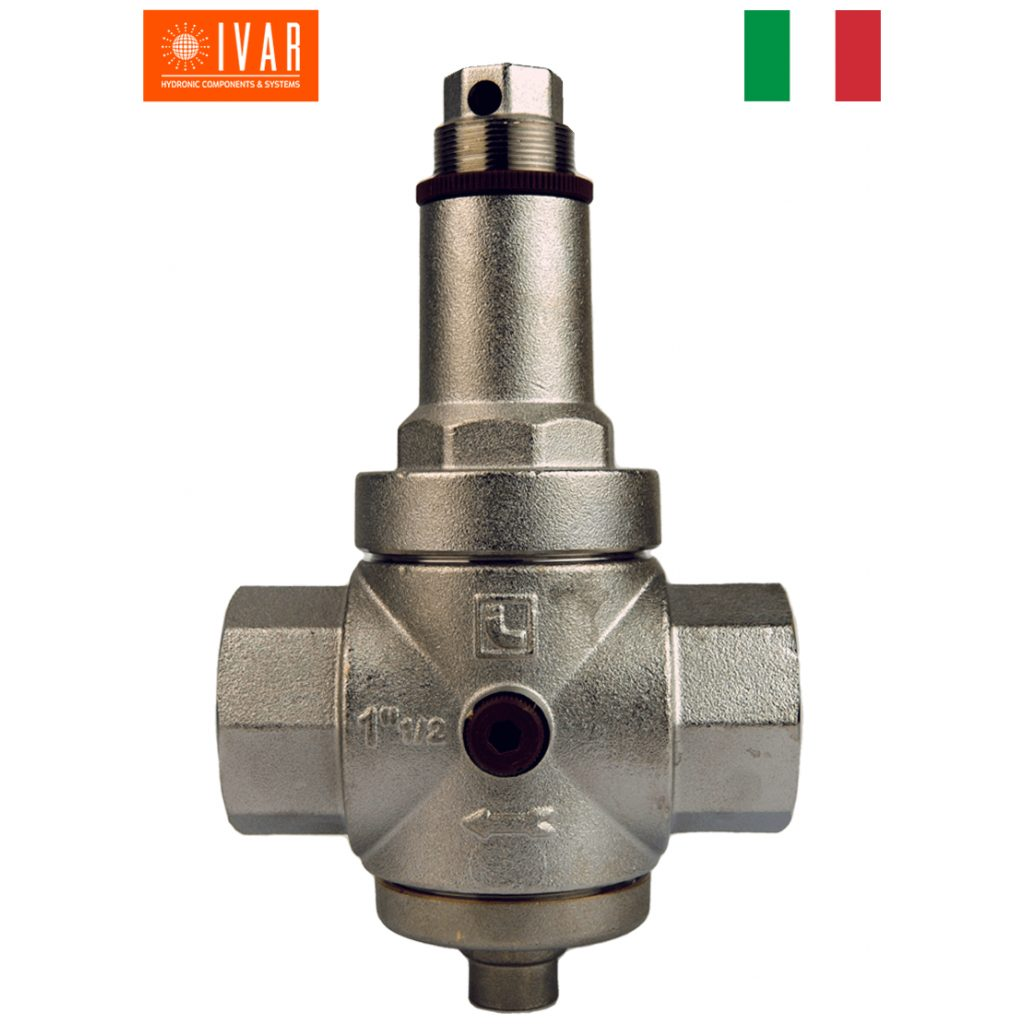 "Reduktor ciśnienia duży GW 1 1/2"" DN40 PN26 regulacja 1-6 bar"