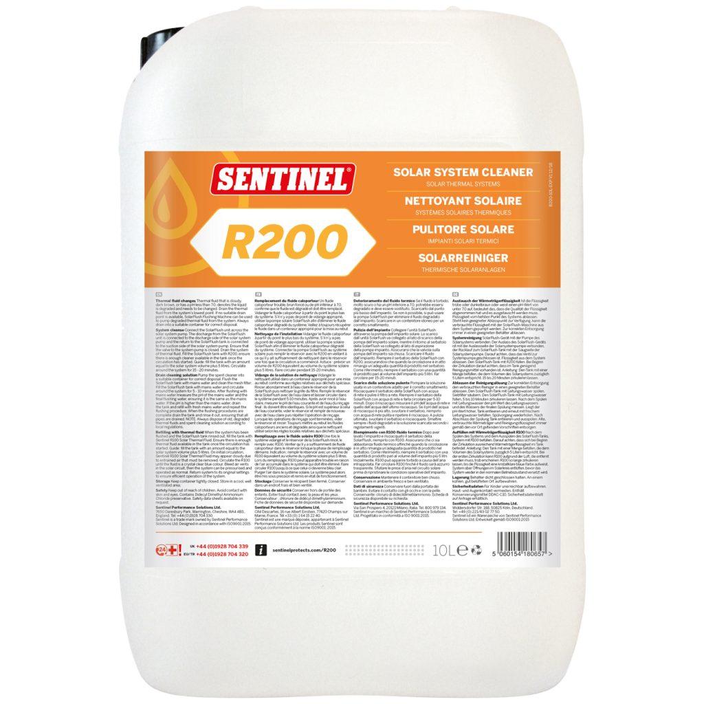 Sentinel R200 środek do czyszczenia instalacji solarnych 10L